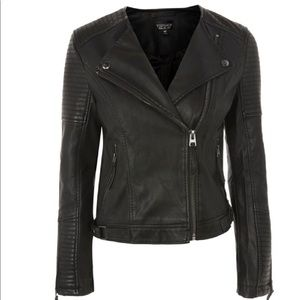 New TOPSHOP leather jacket